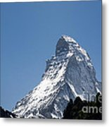Snow-capped Mountain Metal Print by Mats Silvan