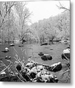 Snow Covered Darby  Metal Print