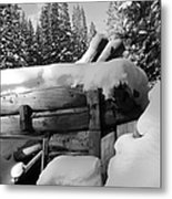 Snow Covered History Metal Print