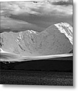 snow covered landscape of anvers island and neumayer channel Antarctica Metal Print