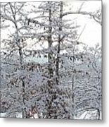 Snow Day V Metal Print
