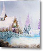 Snow In Florida Metal Print by David Kacey