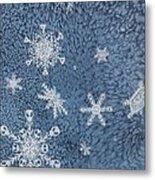 Snow Jewels Metal Print