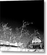 Snow Machines On The Roof Metal Print