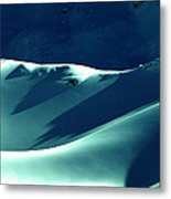 Snow Mountain In Austria  Metal Print by Colette V Hera  Guggenheim