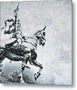 Snow On Joan Metal Print