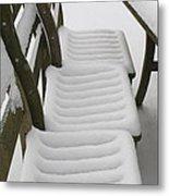 Snow Seat Metal Print