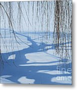 Snow Shadows I Metal Print