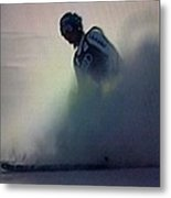 Snow Spray 6 Metal Print by George Pedro