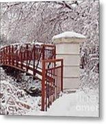 Snow Way Or No Way Metal Print by Irfan Gillani