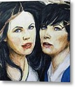 Snow White/ Mary Margaret Metal Print