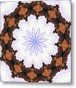 Snow Wreath Metal Print