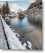 Snowcapped Metal Print