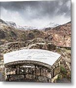 Snowdonia Viewpoint 2 Metal Print