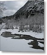Snowed Under Valley Metal Print