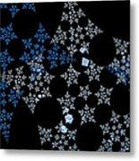 Snowflakes By Jammer Metal Print