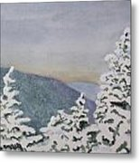 Snowy Mountains Of Nek Metal Print