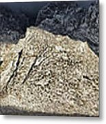 Snowy Sandia Mountain Range Huge Panorama 1150 Metal Print