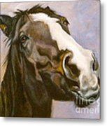 Hot To Trot Metal Print