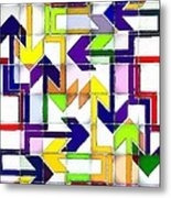 So Many Choices So Little Time Metal Print