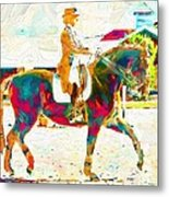 So Many Colors Metal Print