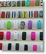 So Many Iphone Cases Metal Print