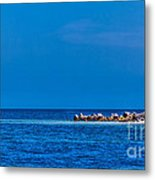 So This Is The Gulf Of Mexico Metal Print