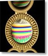 Soap Bubbles Metal Print by Niki Mastromonaco