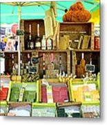 Soap Seller Metal Print