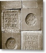 Soaps Metal Print by Frank Tschakert