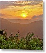 Soaring At Sunrise - Blue Ridge Parkway I Metal Print