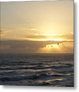 Soaring Sunrise Metal Print