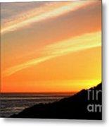 Socal Coastal Sunset Metal Print