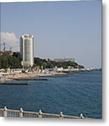 Sochi Bathing Resort At The Black Sea Metal Print