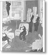 Social Menaces  The First-edition Fiend Metal Print