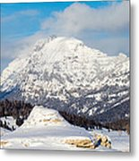 Soda Butte Metal Print