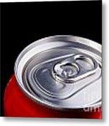 Soda Can Metal Print