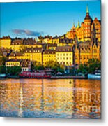 Sodermalm Skyline Metal Print