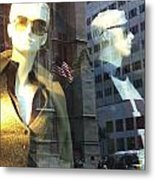 Sofie And Harry In Shades Metal Print