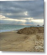 Soft California Sunset Metal Print