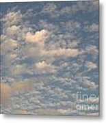 Soft Clouds Metal Print