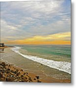 Soft Colors On The Coast Metal Print by Lynn Bauer