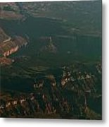 Soft Early Morning Light Over The Grand Canyon 2 Metal Print