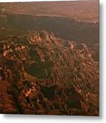 Soft Early Morning Light Over The Grand Canyon 3 Metal Print