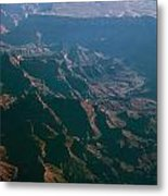 Soft Early Morning Light Over The Grand Canyon 4 Metal Print