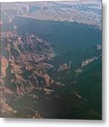Soft Early Morning Light Over The Grand Canyon Metal Print