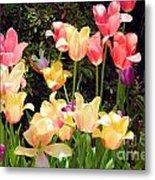 Soft Spring Colors Metal Print