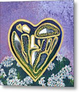 Softened Heart Best Reflections Energy Collection Metal Print