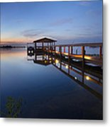 Softly The Morning Arrives Metal Print