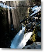 Sol Duc Falls, Olympic National Park Metal Print